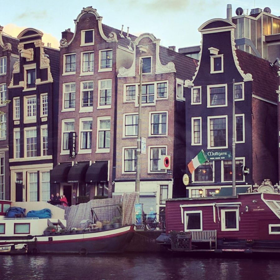 Alternative Amsterdam Wonky Houses