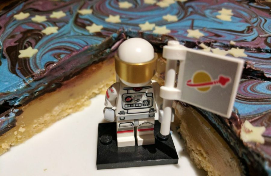 Space themed Shortbread Space themed party Lego Astronaut