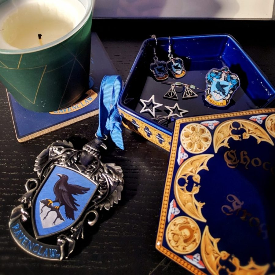 Ravenclaw Earrings Harry Potter Trinket Box Ravenclaw Haven