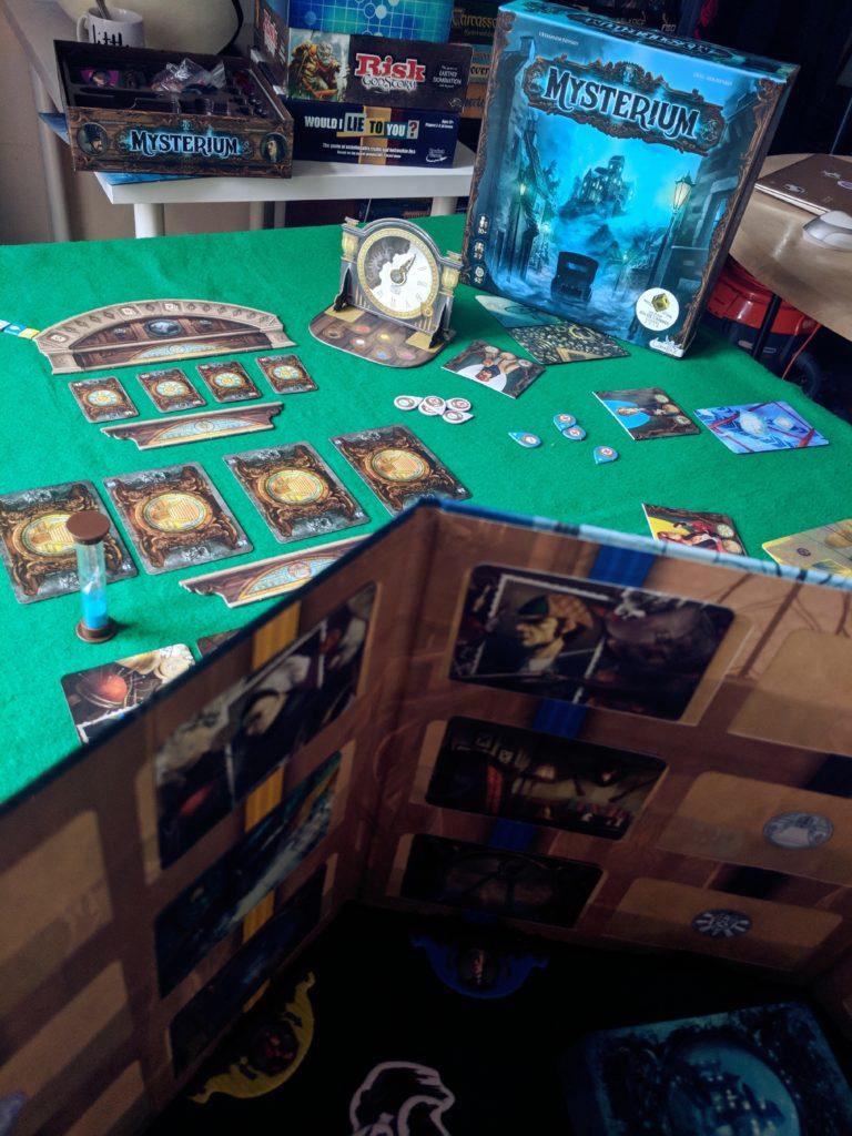 Coventry Board Game Night Mysterium