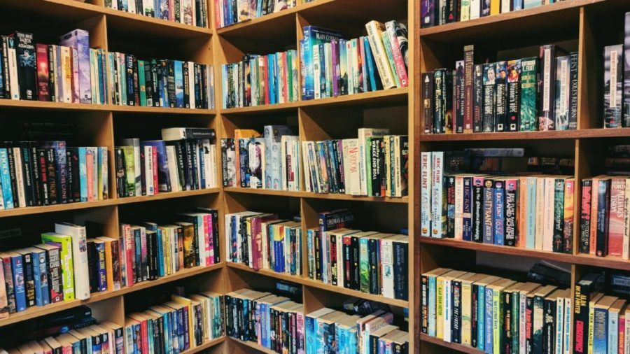Astley Book Farm Sci-Fi Section