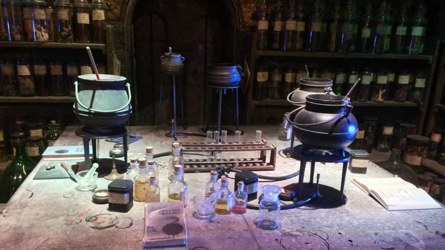 Harry Potter Discussion Group Potions Class