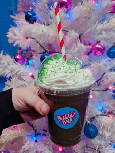 Bubble Boba UK Christmas Chocolate Drink