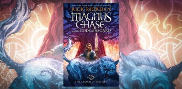 """""""Магнус Чейс и боговете на Асгард, 1: Мечът на лятото"""" – Рик Риърдън"""