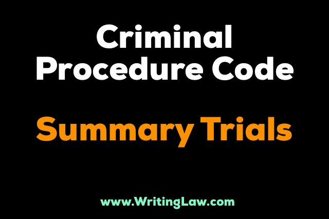 summary trials