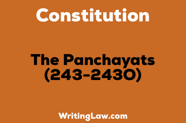THE PANCHAYATS