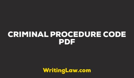 CrPC Bare Act PDF Download