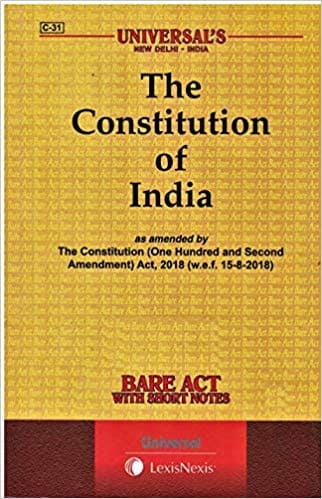 Constitution of India Bare Act Universal