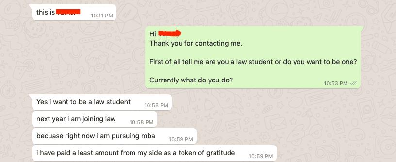 Best way to study law