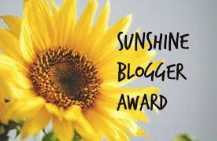Sunshine Blogger Award. 🏆
