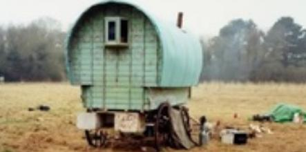 Pavee Vardo, a gypsy wagon.