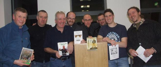 Tullamore Rhymers Club launch chapbook Under the Fading Lamp
