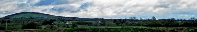 Cairn Hill - aka Corn Hill in Longford in Ireland