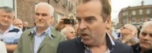 Tom Darcy - should leanr his history better, but at least they made a stand, unlike those who make a skit of him.