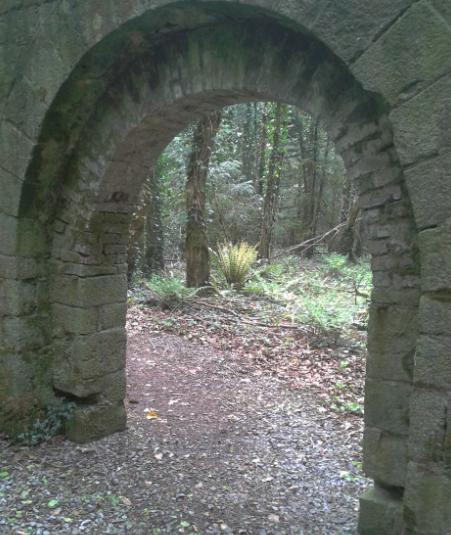 Doppings Walled Gardens in Derrycassin Woods at Millinaleagta in North Longford