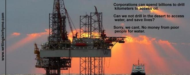 Drill for Water or for Oil?