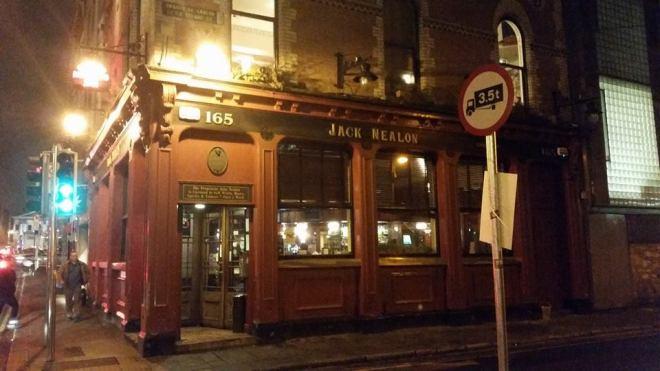 Jack Neylons in Dublin's Caple Street