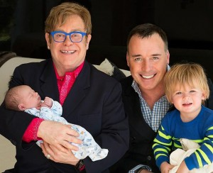 Elton John and David Furnish - a model for gay marraige