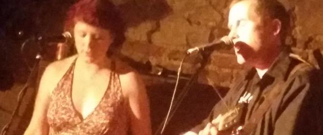 Tracy Bruen sings as part of a set at the Roisin Dubh open mic