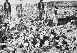 Victims of the Genocide of the Armenians by forces of the Ottoman Empire