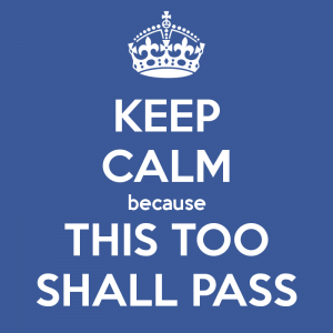 This too shall pass... #zenquote