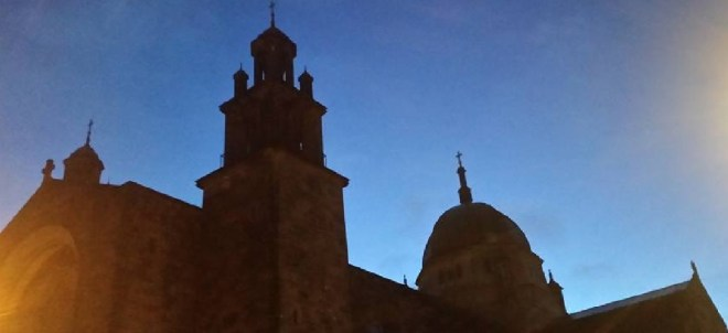 Galway Cathederal at dawn: the dusk of life that is death, is the dawn of the life beyond the veil...