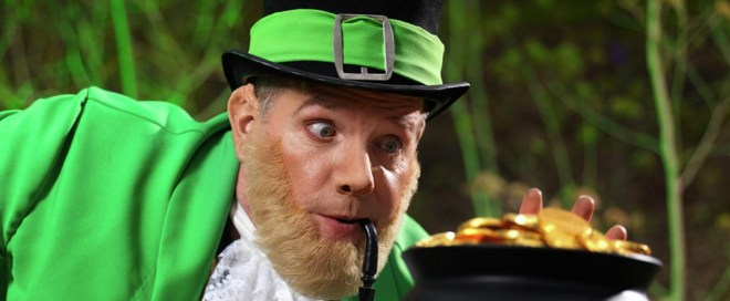 The Leprechaun who gave Willie Rimes his gold