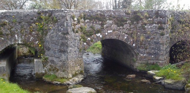 Legan Bridge in County Longford, the scene of the abduction of Eninor Perry