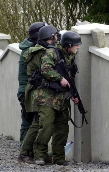 Garda ERU - Irish Police Commando at the Abbeylara shooting