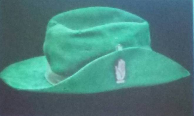 Irish Citizen Army hat from 1916