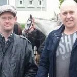 With Cllr Sean Maher at the Banagher Horse Fair