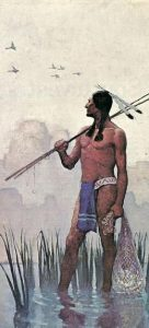 Native American Brave. Image from Google - source unknown