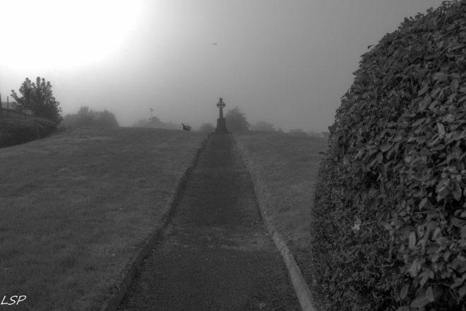 The Famine Cross in Longford - Photo by Lalin Swaris