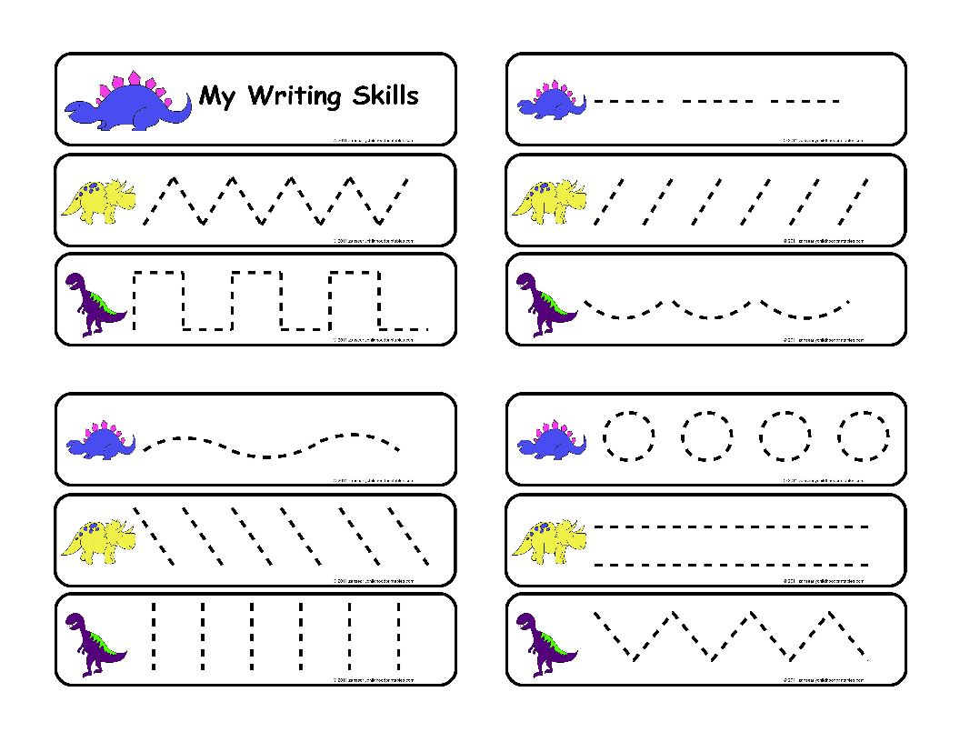 Pre Writing Worksheets For Adults