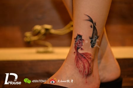 Chinese Fish Tattoo