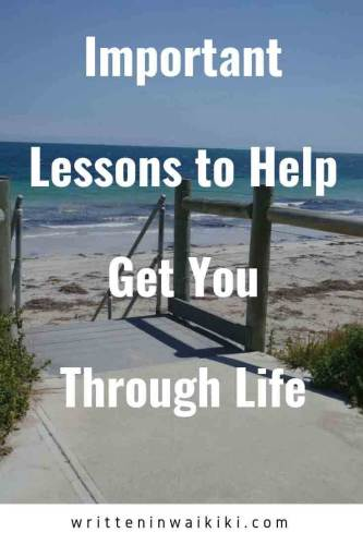 important lessons to help get you through life pinterest beach