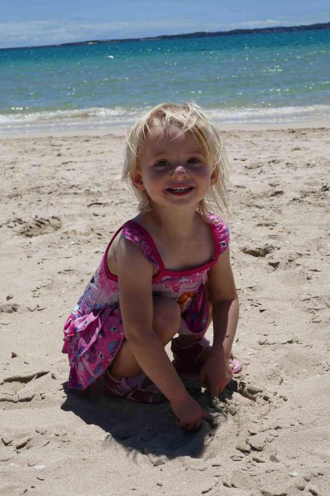 important lessons to help get you through life beach rockingham western australia child toddler