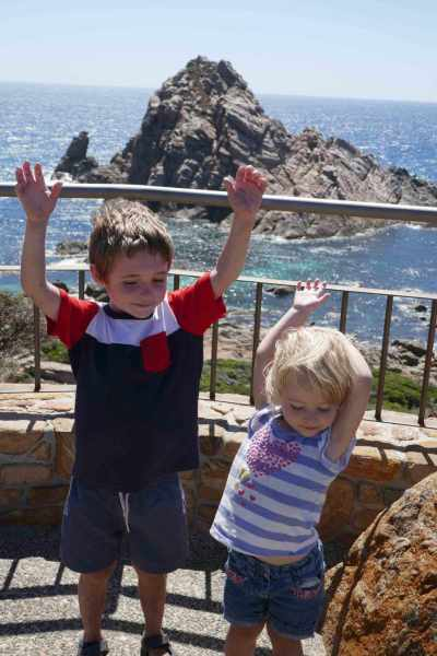benefits of positive thinking happy kids Sugarloaf Rock Margaret River Western Australia