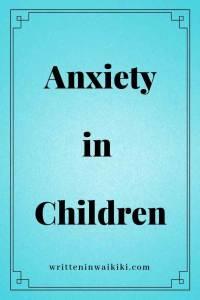 anxiety in children pinterest blue background