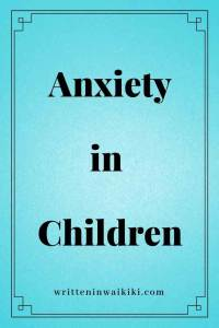 anxiety in children pinterest blue background