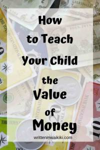 how to teach your child the value of money pinterest kids play money