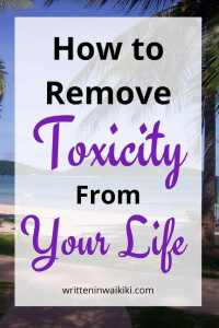 How to Remove Toxicity From Your Life. Be healthier, happier and bring more positivity to your life.