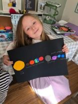 Olive's solar system
