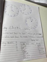 Kitty's clock work