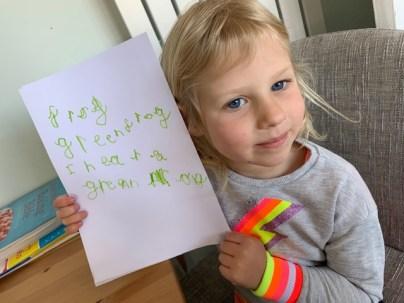Hope's writing