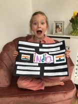 Olive's poster on India