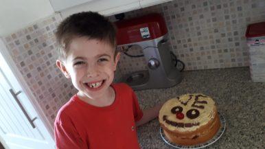 Joshua's VE Day cake