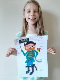 Nellie's pirate picture