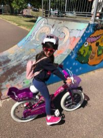 Prim riding without stabilisers!