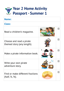 Year 2 Home Activity Passport - Summer 1